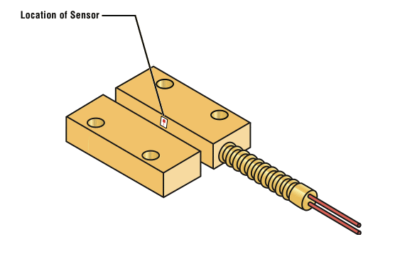 Security Sensor Illustration